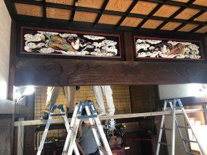 隆昌寺耐震工事着工の画像